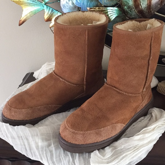 sports shoes 8f956 a0e01 UGG BOOTS Chestnut ULTRA SHORT MENS 5220 size M11
